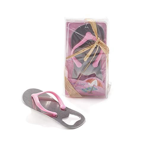 Bonboniere Korkenzieher Flaschenöffner Flip Flops Pink Tischkarte Geschenk Einladungen