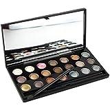 PhantomSky 21 Colores Sombra De Ojos Paleta de Maquillaje Cosmética - Perfecto para Uso Profesional y Diario