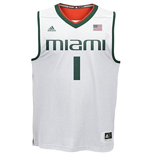 rricanes Replica Basketball Jersey, 2X Große, weiß ()