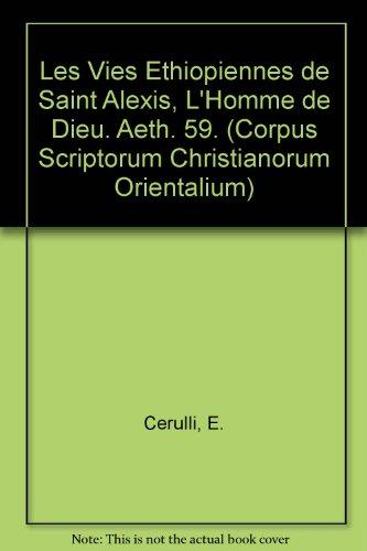 Les Vies Ethiopiennes De Saint Alexis, L'homme De Dieu. Aeth. 59.