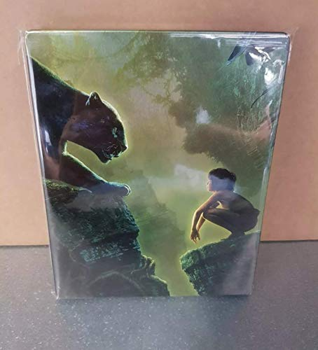 The Jungle Book (Das Dschungelbuch) 3D +2D - Exklusiv Limited Steelbook Edition (inkl. Deutsche Tonspur) - Blu-ray