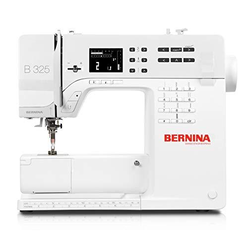 Bernina 325 Nähmaschine, EINFACH, GENIAL, STYLISCH, 3ER Serie, für Junge Kreative (Nähmaschinen Bernina Overlock)