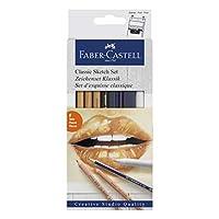 Faber-Castell 5110114004 Klasik Sketch Seti, Siyah