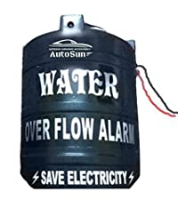 Autosun WR-50 Water Tank Overflow Voice Alarm Wired Sensor Security System