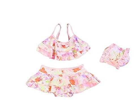 Babyicon - Maillot deux pièces - Bébé (fille) - rose - XL