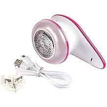 Rasurador y quita pelusas de tela recargable por USB portátil de GLEADING, doble protección para su ropa, quita hilachas, pelusas y bolitas rápida y efectivamente