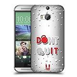 Head Case Designs Geb' Nicht Auf Fitnessbegeistert Ruckseite Hülle für HTC One M8 / M8 Dual SIM