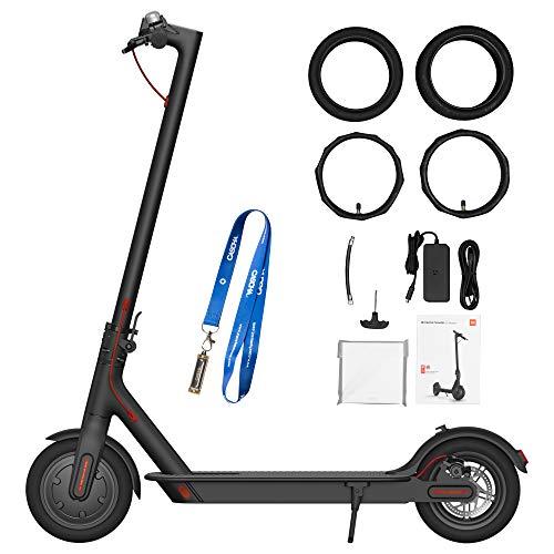 CASCHA E-Scooter Set, Xiaomi M365 Mi Electric Scooter mit Zubehör und Lanyard, Elektro Roller, E-Scooter für Erwachsene