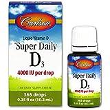 Carlson - Super Daily D3 4000 IU - 10.9 ml