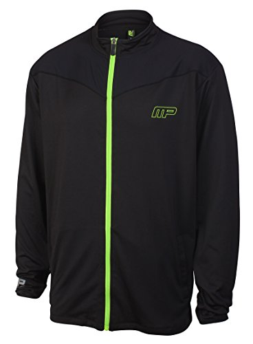 Muscle Pharm Mens Zip Through Top Performance, Felpa Uomo - 41 XiZlgRXL