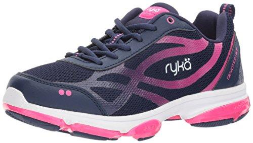 Ryka Damen Devotion XT Medieval Blue/Athena Pink/White 6.5 M EU (Schuhe Zumba Pink)