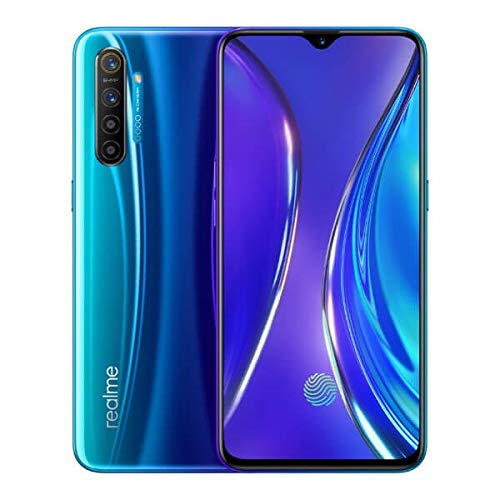 realme X2 8 GB 128 GB Smartphone Handy, 6,4 '' Snapdragon 730G 64MP Hawk Eye Quad Kamera NFC, Europäische Version (Blau)