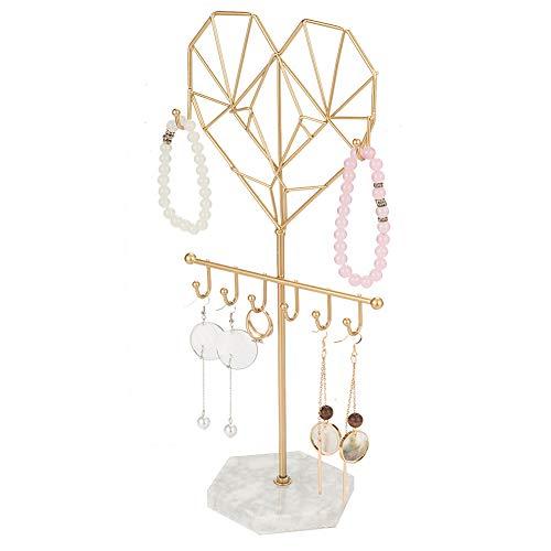Soporte para joyas con forma de varita mágica, para guardar joyas, joyas, joyas, joyas, joyas, organizador para cadenas, pendientes, anillos, collares, relojes y pulseras.