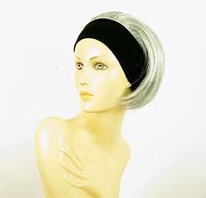 by WIG UNIVERS headband wig women short smooth grey REF amanda 51