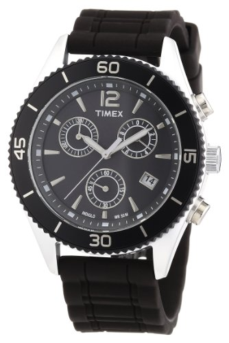 Timex Unisex-Armbanduhr Modern Originals Sport Chronograph Quarz T2N826