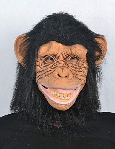 Generique - Affen Maske für Erwachsene