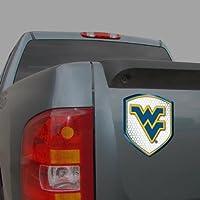 NCAA West Virginia Mountaineers Team Shield Automobile