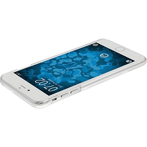 PhoneNatic Case für Apple iPhone 6 Plus / 6s Plus Hülle pink Sanduhr Hard-case für iPhone 6 Plus / 6s Plus + 2 Schutzfolien Lila
