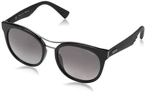 Police Damen Sparkle 3 Sonnenbrille, Schwarz (Shiny Black), 45
