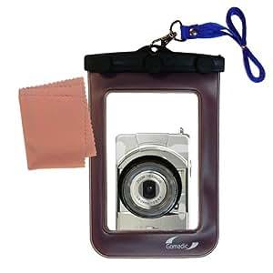 La pochette étanche Clean and Dry conçue pour l'appareil photo Minolta Revio KD-400Z