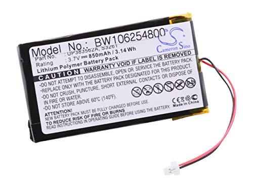 vhbw Li-Polymer Akku 850mAh (3.7V) für PDA, Handheld, Pocket PC Palm M500, M505, M515, M 500, 505, 515, IBM WorkPad 8602-10U, WorkPad c500