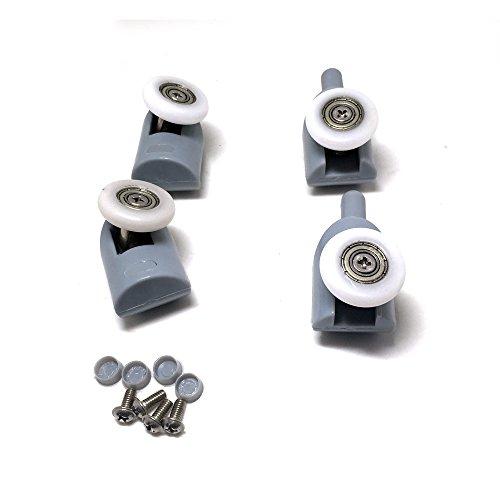 41 XnIFQ06L - Rodamientos para mampara de ducha, 8 unidades, piezas de repuesto de 25mm de diámetro