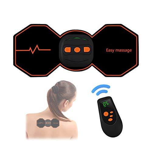Aooeou tens elettrostimolatore professionale care machine stimolatore muscolare ginocchio indietro dolore cervicale sollievo dispositivo,wireless elettrico batterie ricaricabili massaggiatore