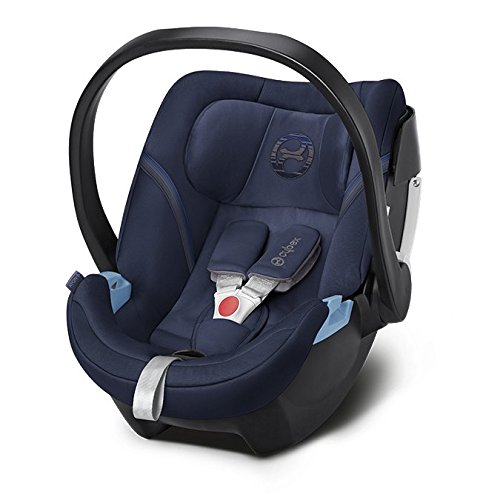 Cybex Gold Aton 5, Autositz Gruppe 0+ (0-13 kg), Kollektion 2018, denim blue
