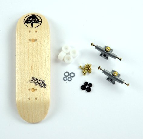 "Komplett-Set Berlinwood Fingerboard Deck ""Elias Assmuth"" inkl. Bollie Equipment"