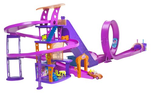 Mattel L4357 - POLLY POCKET Shoppingtour-Rennbahn