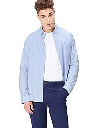 find. Men's Cotton Regular Fit Oxford Shirt