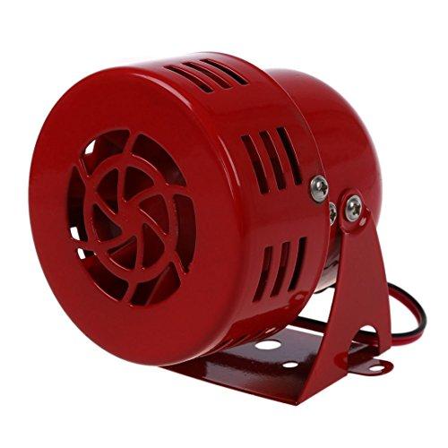TOOGOO(R) 12V Bocina sirena de ataque aereo automotriz coche camion VTG conducido por motor Rescate de incendios Estados Unidos