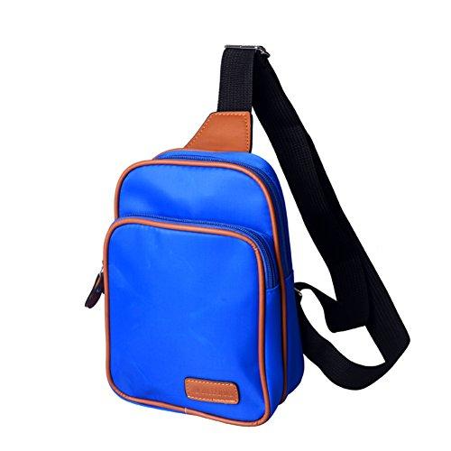borse Ms. /pacco petto Ms./pacchetto diagonale spalla/Coppia piccolo zaino-B D