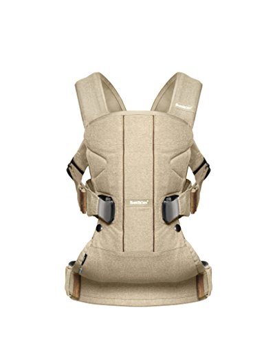 BabyBjorn Baby Carrier One (Birchwood beige, Cotton Mix)
