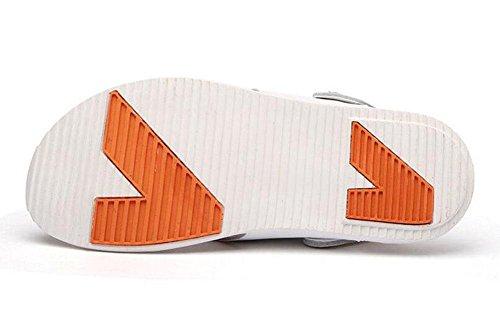 GLTER Herren Flip Flops Breathable Slingback Sandalen Neue Slippers Sommer Fashion Casual Beach Pool Schuhe White