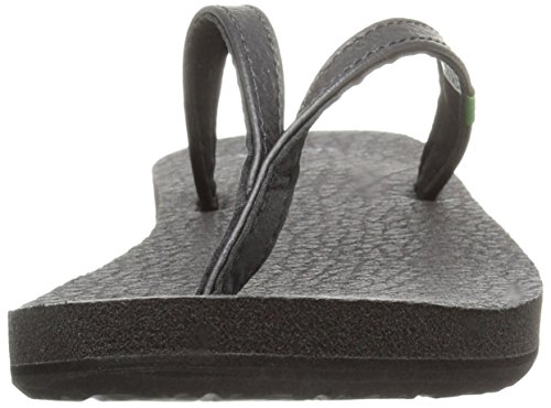 Sanuk Womens Yoga Spree 4 Flip Flop Black