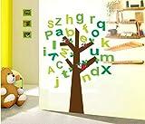 ZBYLL Wall Sticker Raum gewidmet 's Cartoon Kinder englischen Buchstaben Schlafzimmer Aufkleber