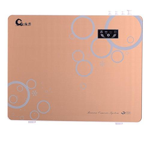 Gerun Touch Screen niedriger Lärm austauschbar 5 Bühne Umkehrosmose Trinkwasser Filter System GR-400-RO (Gold -