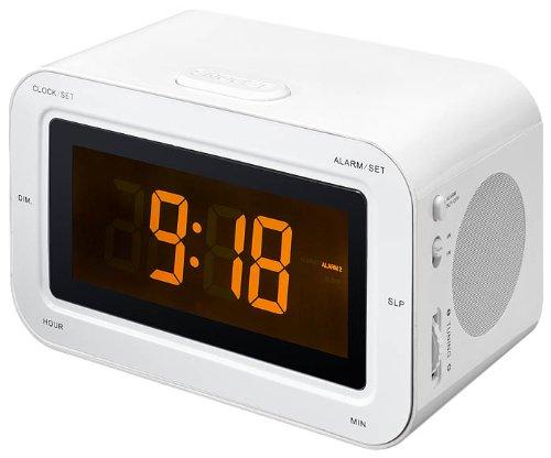 Bigben Interactive RR30BCSTICK Radio portable Horloge Analogique Blanc - Radios portables (Horloge,...