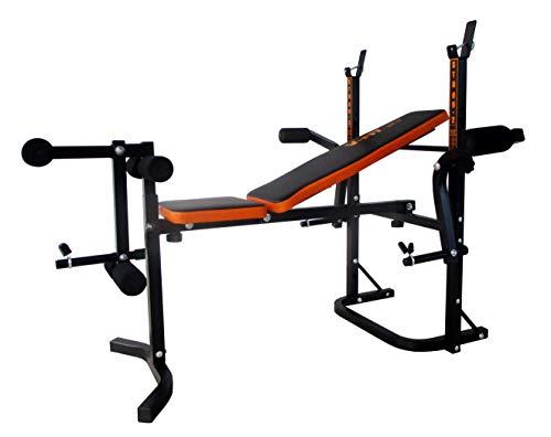 V-Fit STB-09-2 - Banco plegable para levantamiento de pesas