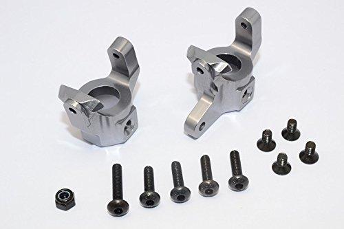 Vaterra-K5-Blazer-Ascender-Upgrade-Parts-Aluminium-C-Hub-1Pr-Set-Gray-Silver