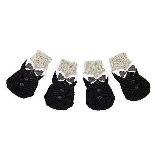 Rocita - Calcetines Antideslizantes para Perros pequeños (4 Unidades)