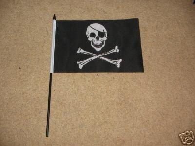 2 x Piraten-Flagge