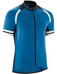 Übergrößen Gonso Rad-Trikot Dean blau-schwarz