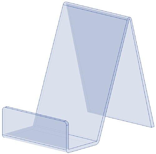 Preisvergleich Produktbild 5 x Kleiner freier Acrylbuch-Platten-Einzelverkaufs-Ausstellungsstand