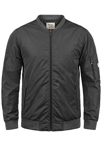 Blend Craz Herren Bomberjacke Übergangsjacke Jacke Mit Stehkragen, Größe:M, Farbe:Phantom Grey (70010)