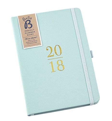 Der perfekte Busy B Planer und Terminkalender 2018 – mit Steckfächern, Stickern und einem Mini-Notizbuch