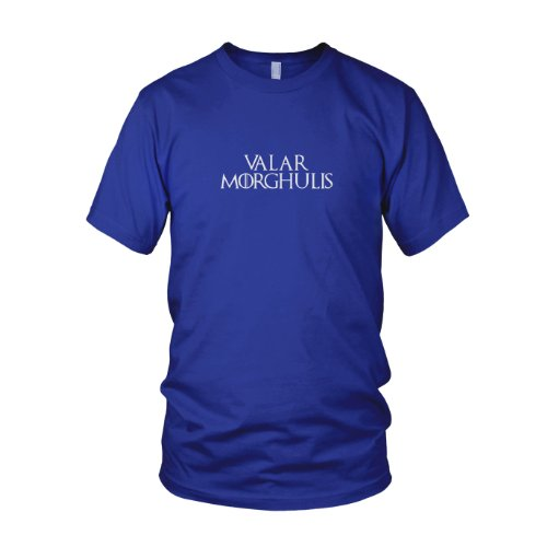 GoT: Valar Morghulis - Herren T-Shirt Blau