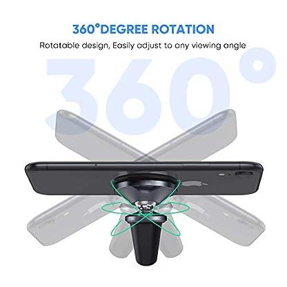 UGREEN-Autohalterung-Handy-Magnet-Handyhalterung-Auto-Lftung-360-Grad-Drehbare-KFZ-Handyhalter-kompatibel-mit-iPhone-Xs-XR-X-8-Samsung-S10-S9-S8-A50-HUAWEI-P20-lite-Sony-Xperia-10-usw