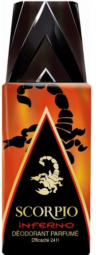 Scorpio - Déodorant pour Homme - Inferno - Atomiseur 150 ml